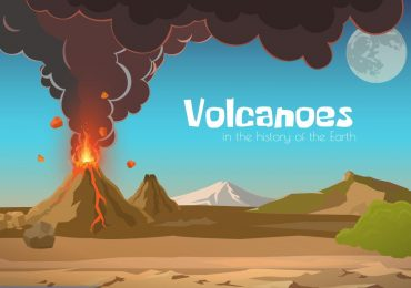 Volcanoes in the history of the earth (1)